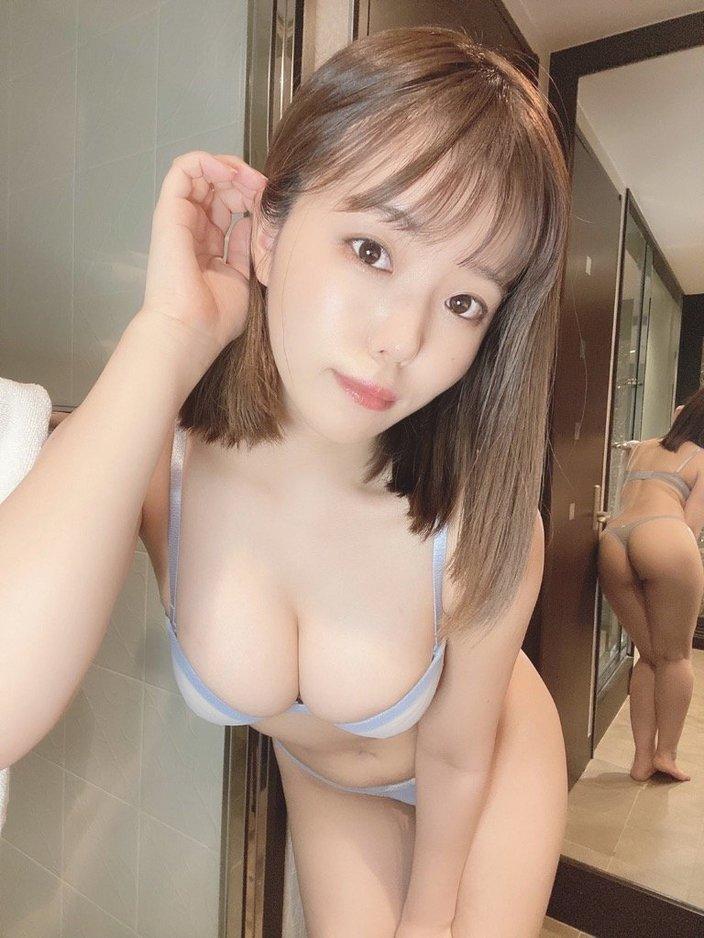 女子大生・桜田なな「360度ムチムチ!」鏡に映る食い込みヒップも絶品の画像