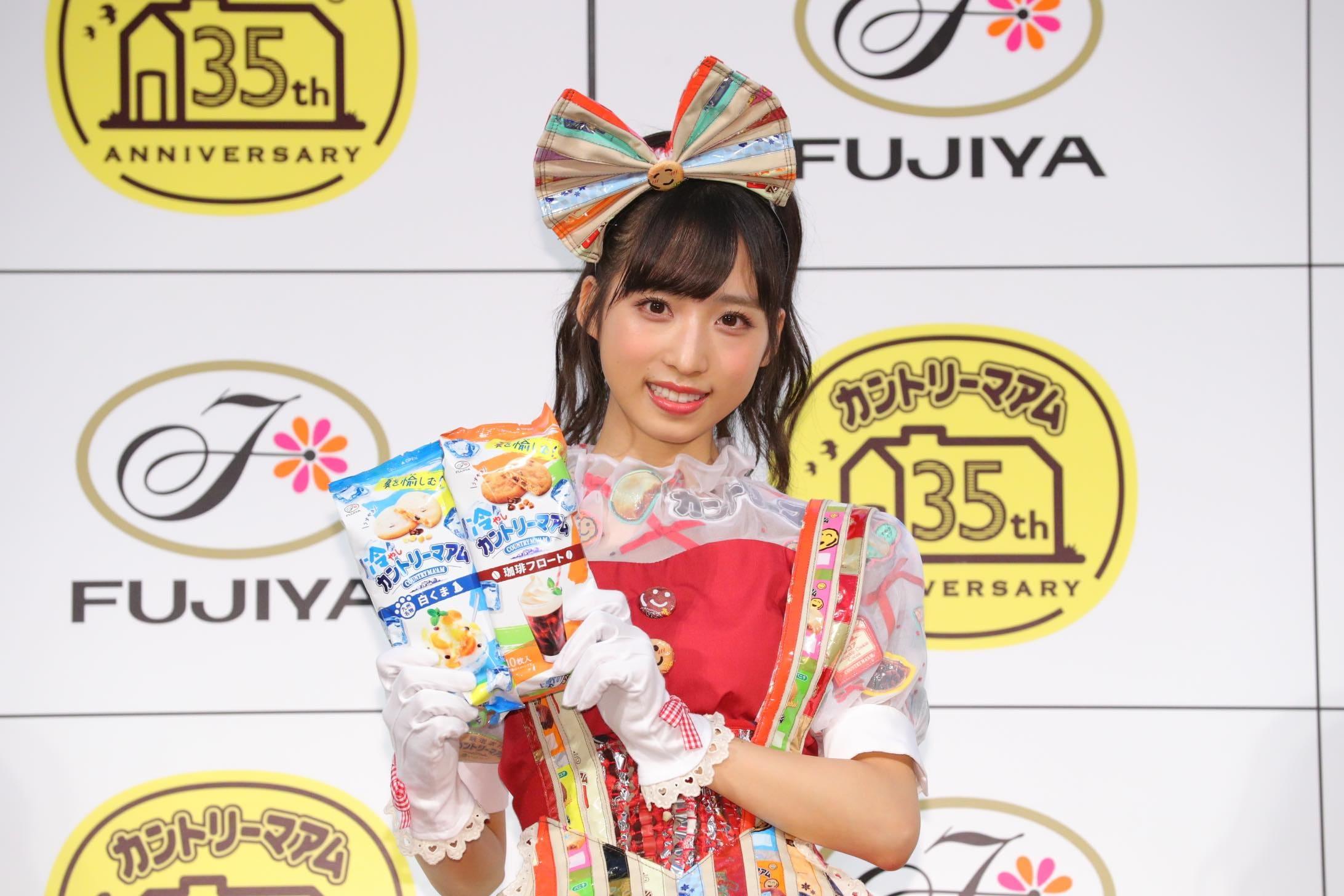 AKB48小栗有以「タピオカミルクティー味」をカントリーマアムの新味に提案【写真32枚】の画像032