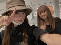 NGT48荻野由佳「仲良し中井りかとツーショット」お忍びであの店に…?【画像4枚】の画像