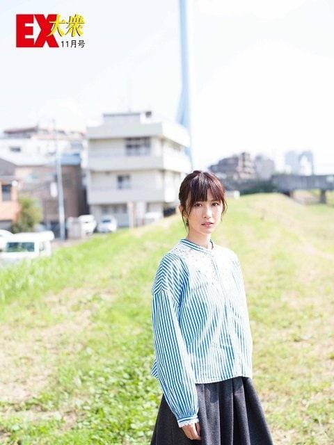 【未公開ショット】欅坂46・土生瑞穂さん編<EX大衆11月号>の画像002