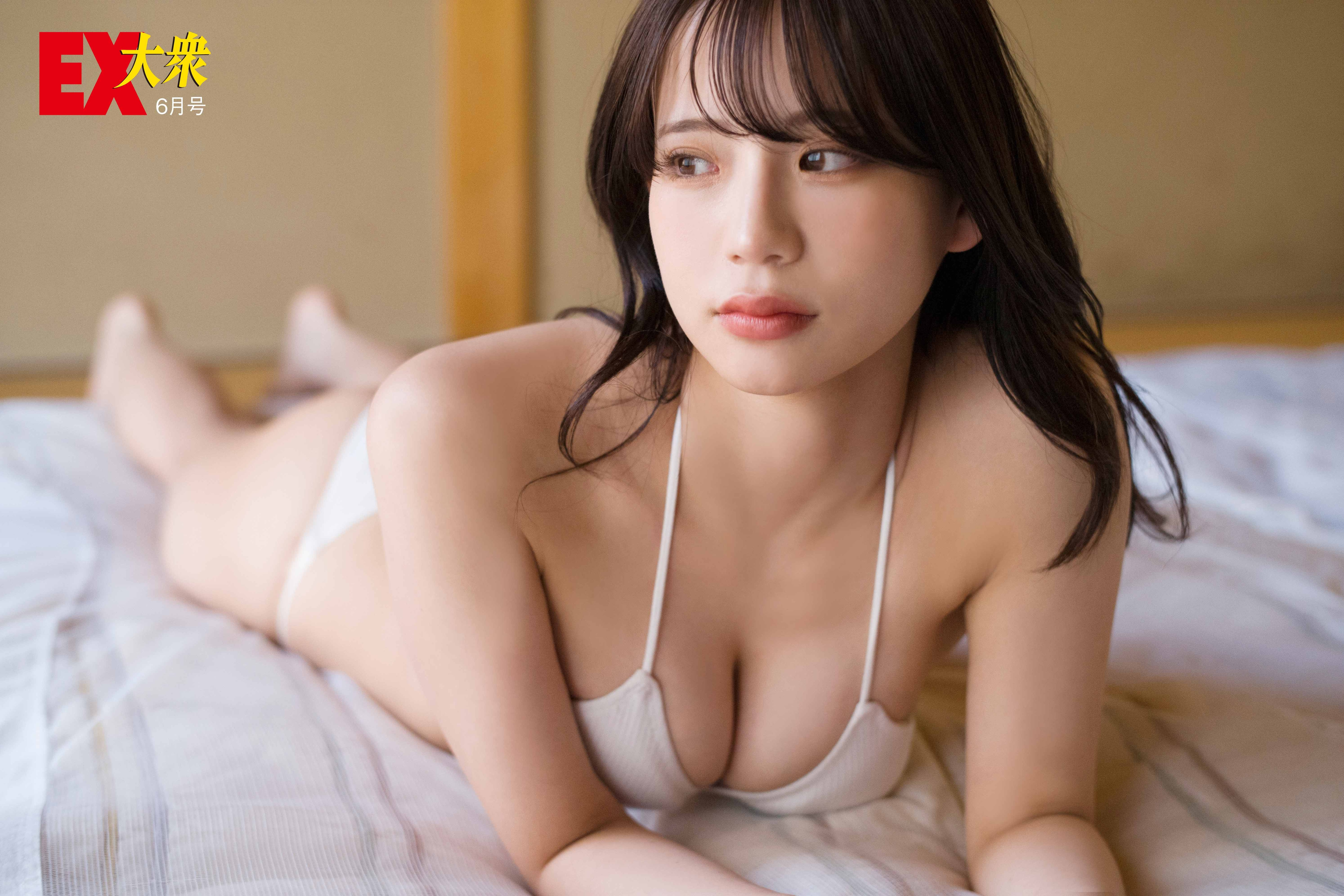 NMB48和田海佑の本誌未掲載カット5枚を大公開!【EX大衆6月号】の画像005