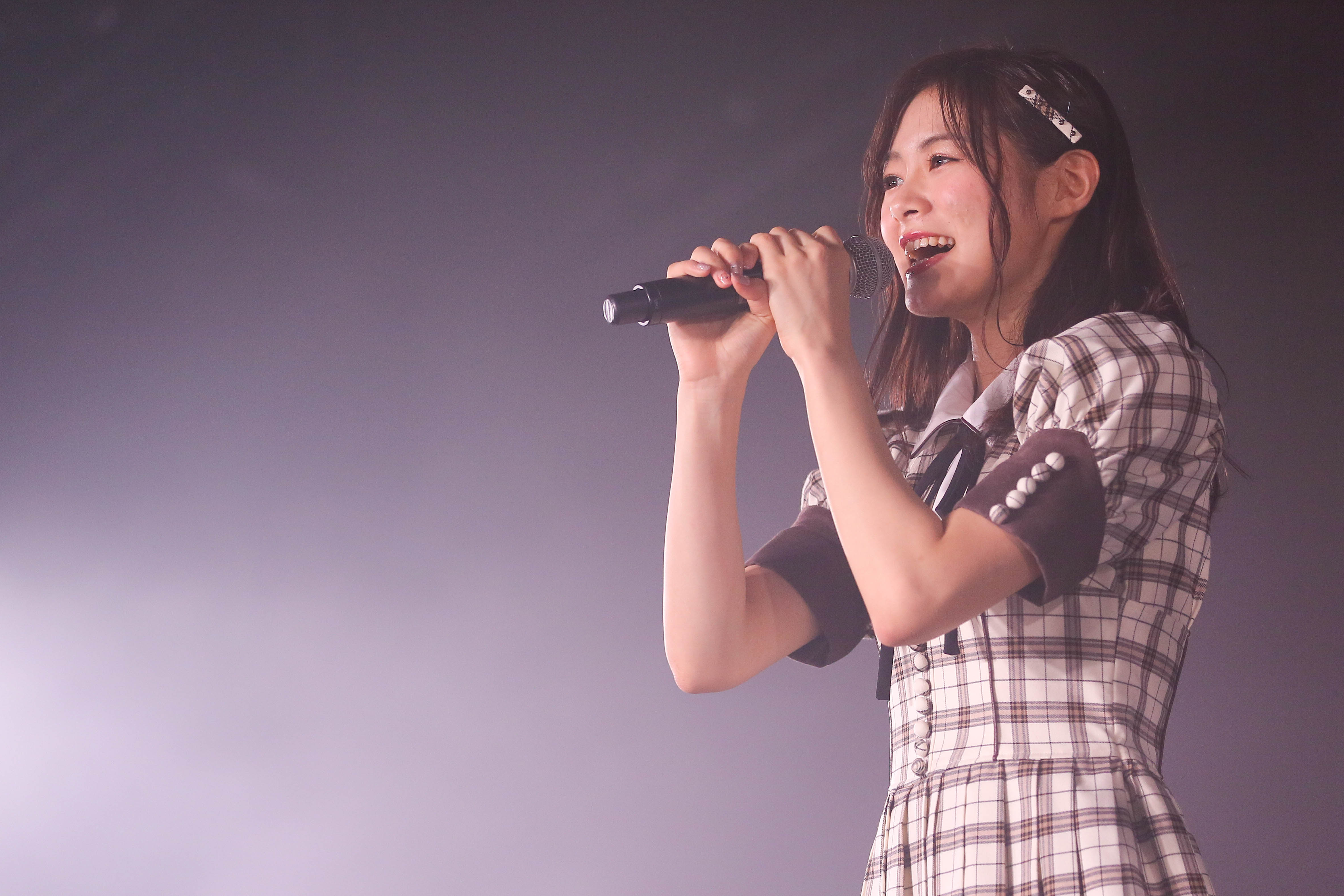 NGT48⼭⼝真帆、菅原りこ、⻑⾕川玲奈・卒業公演後のコメント発表!【写真14枚】の画像004