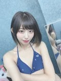 元NMB48山岸奈津美「清涼感あふれるマリン柄ビキニ」撮影会でファンに感謝【画像4枚】の画像002