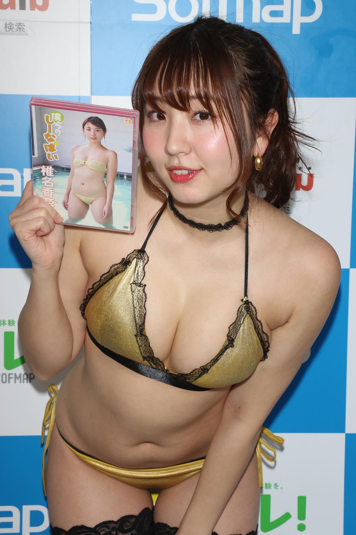 椎名香奈江のグラビア水着ビキニ画像032