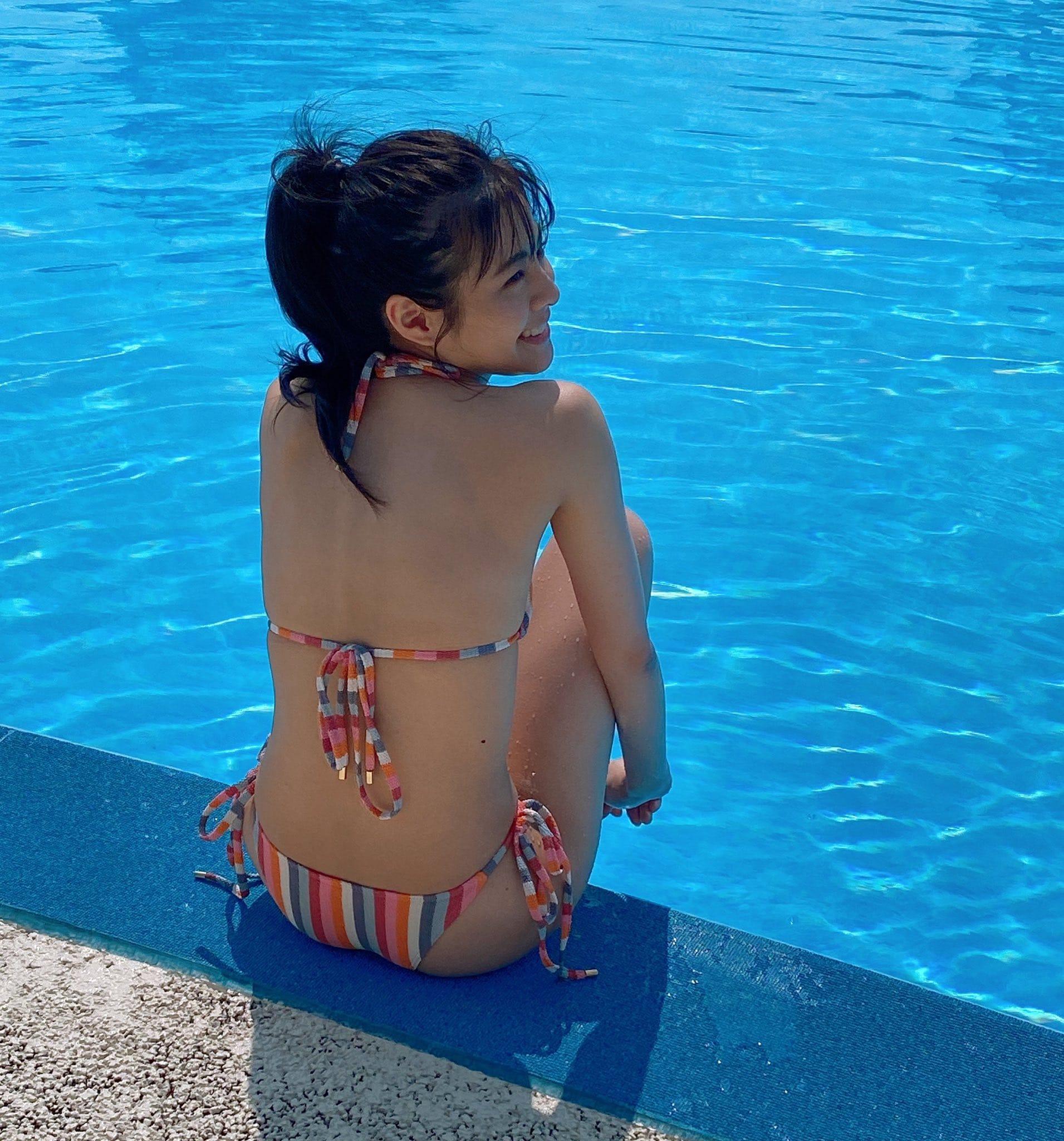 NGT48本間日陽「ヘルシーな美スタイルを披露!」写真集アザーカットにファン胸キュン【画像4枚】の画像001