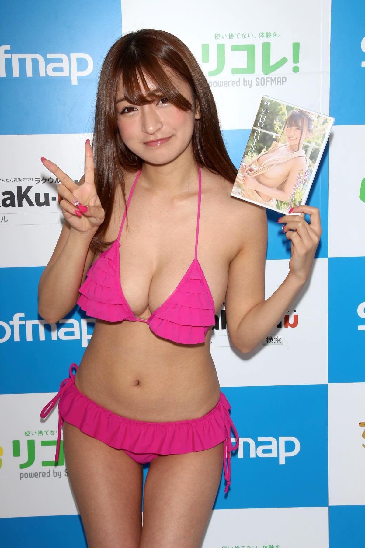 ☆HOSHINO「シャツがどんどん透けちゃう」エプロンはほぼ裸!【写真35枚】の画像035