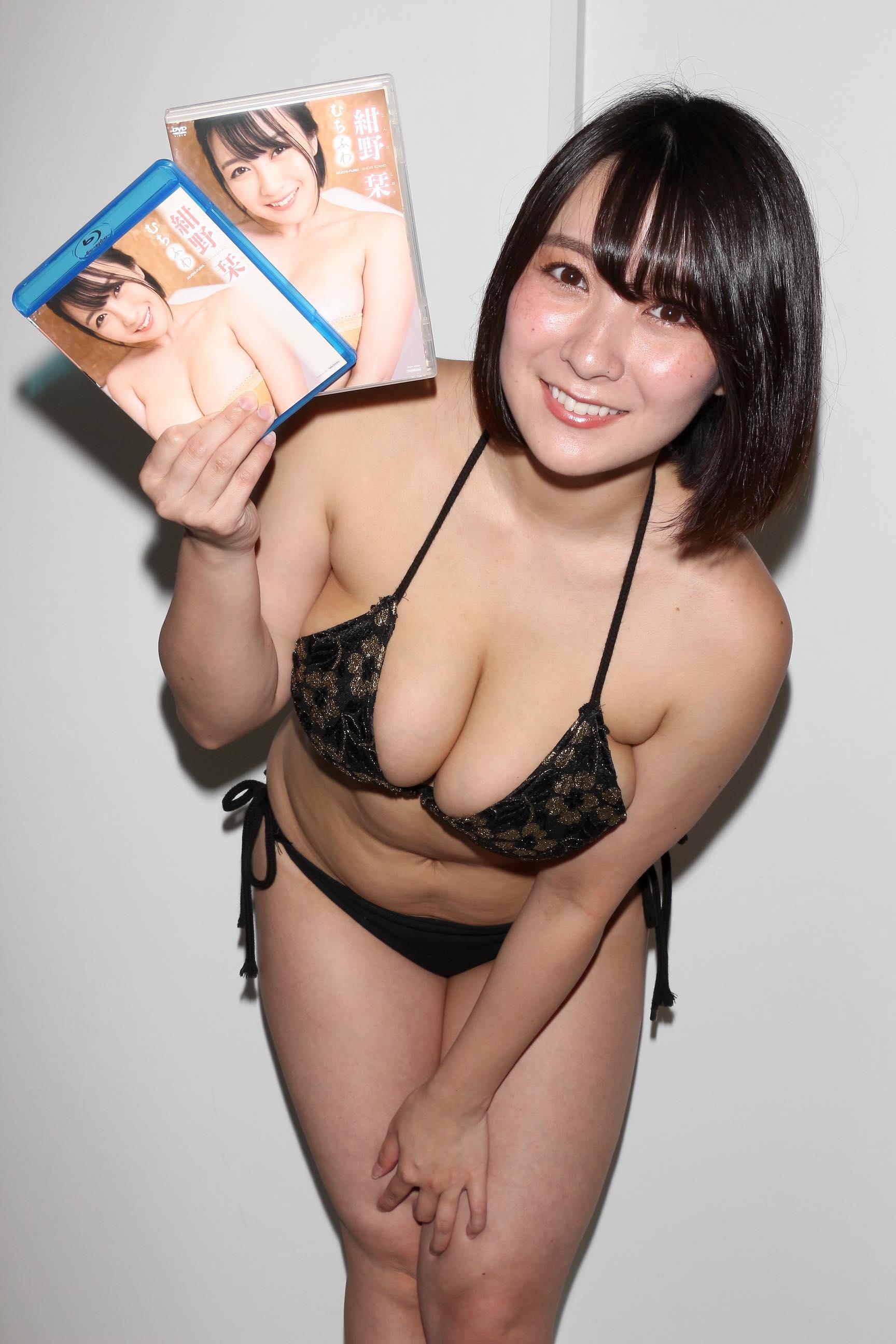 紺野栞「胸が成長しっぱなし」Hカップがキツくなっちゃった【写真28枚】の画像027