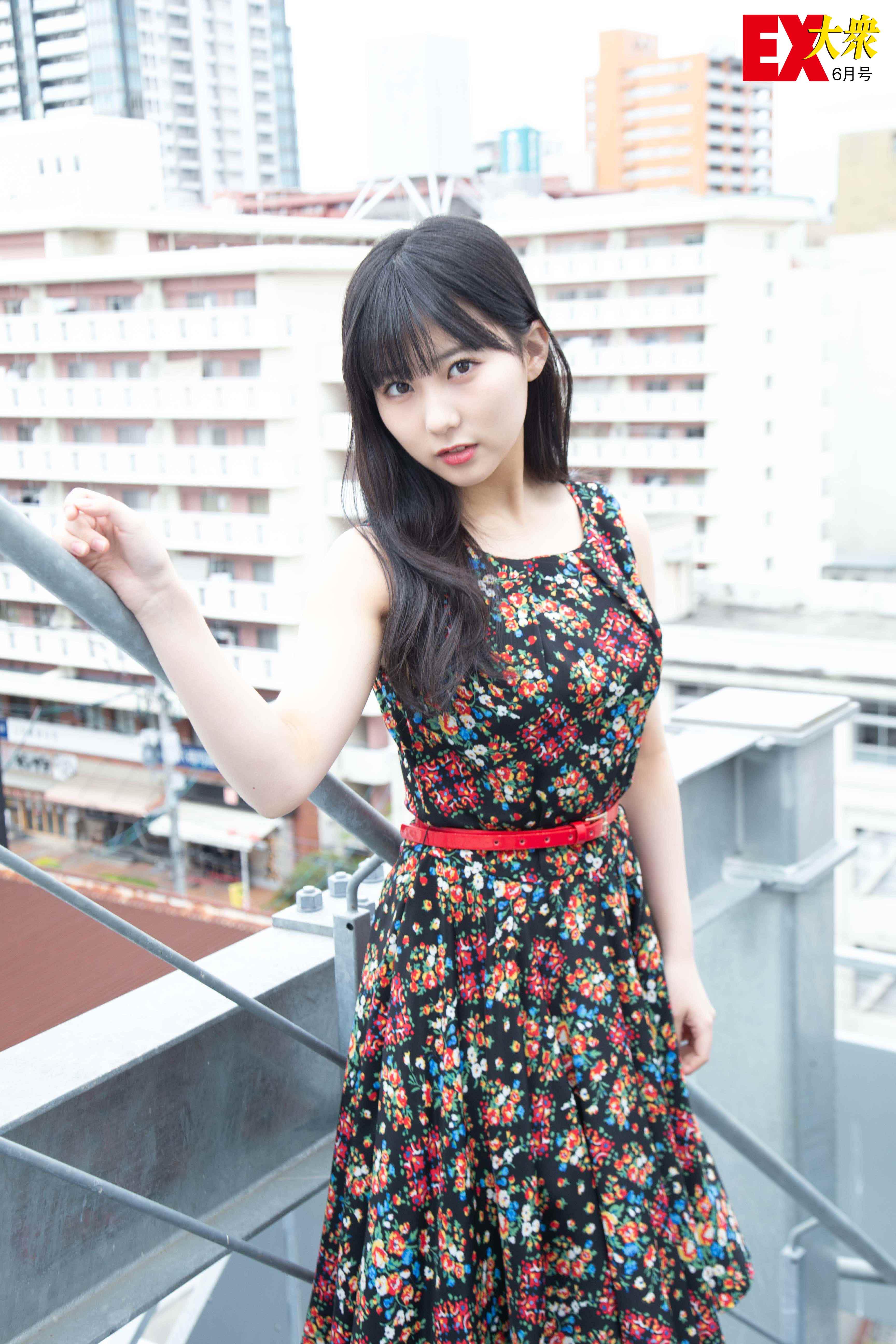 HKT48田中美久の本誌未掲載カット8枚を大公開!【EX大衆6月号】の画像007