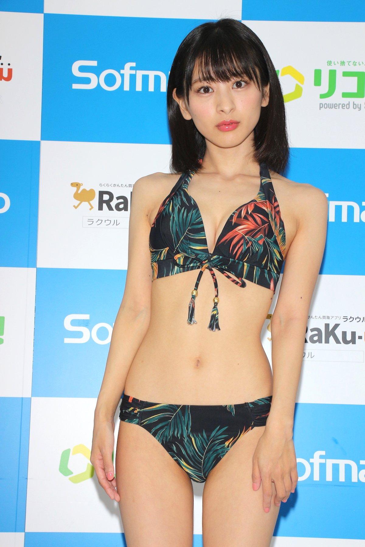 牧野澪菜「144cmのセクシーボディ」スクール水着でやらかしちゃった【画像61枚】の画像004