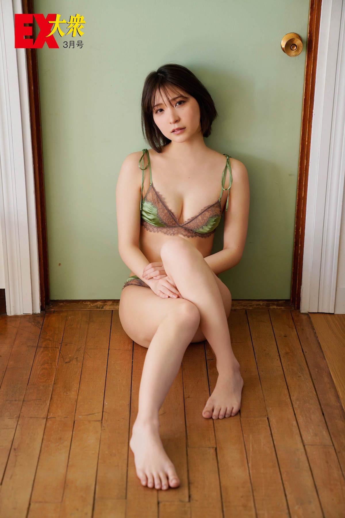 あまつまりなの本誌未掲載カット9枚を大公開!【EX大衆3月号】の画像001