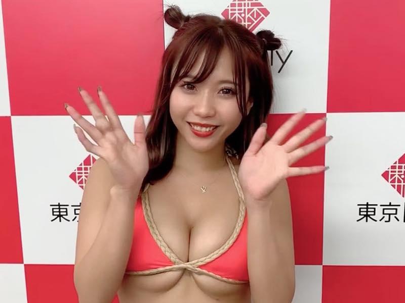 福田琴美「Fカップの下乳」を武器に、次世代女王の座を狙う!【写真4枚】の画像001