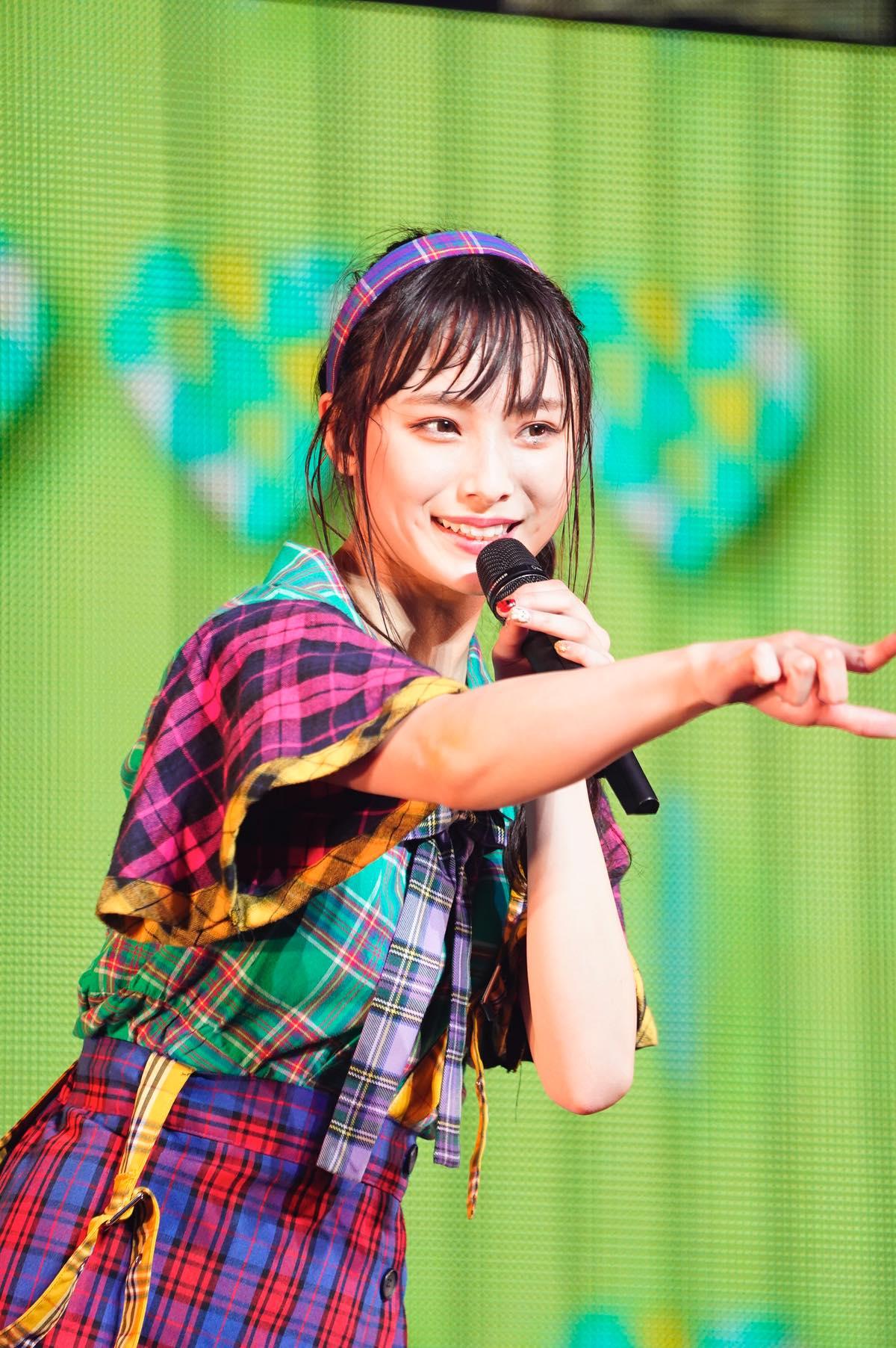 NMB48梅山恋和ソロコンサートの画像2