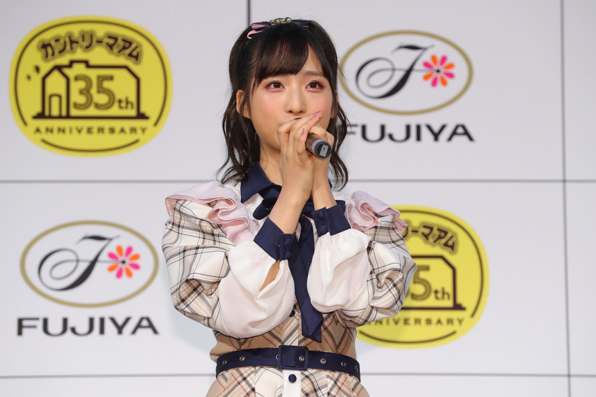 AKB48小栗有以「タピオカミルクティー味」をカントリーマアムの新味に提案【写真32枚】の画像003