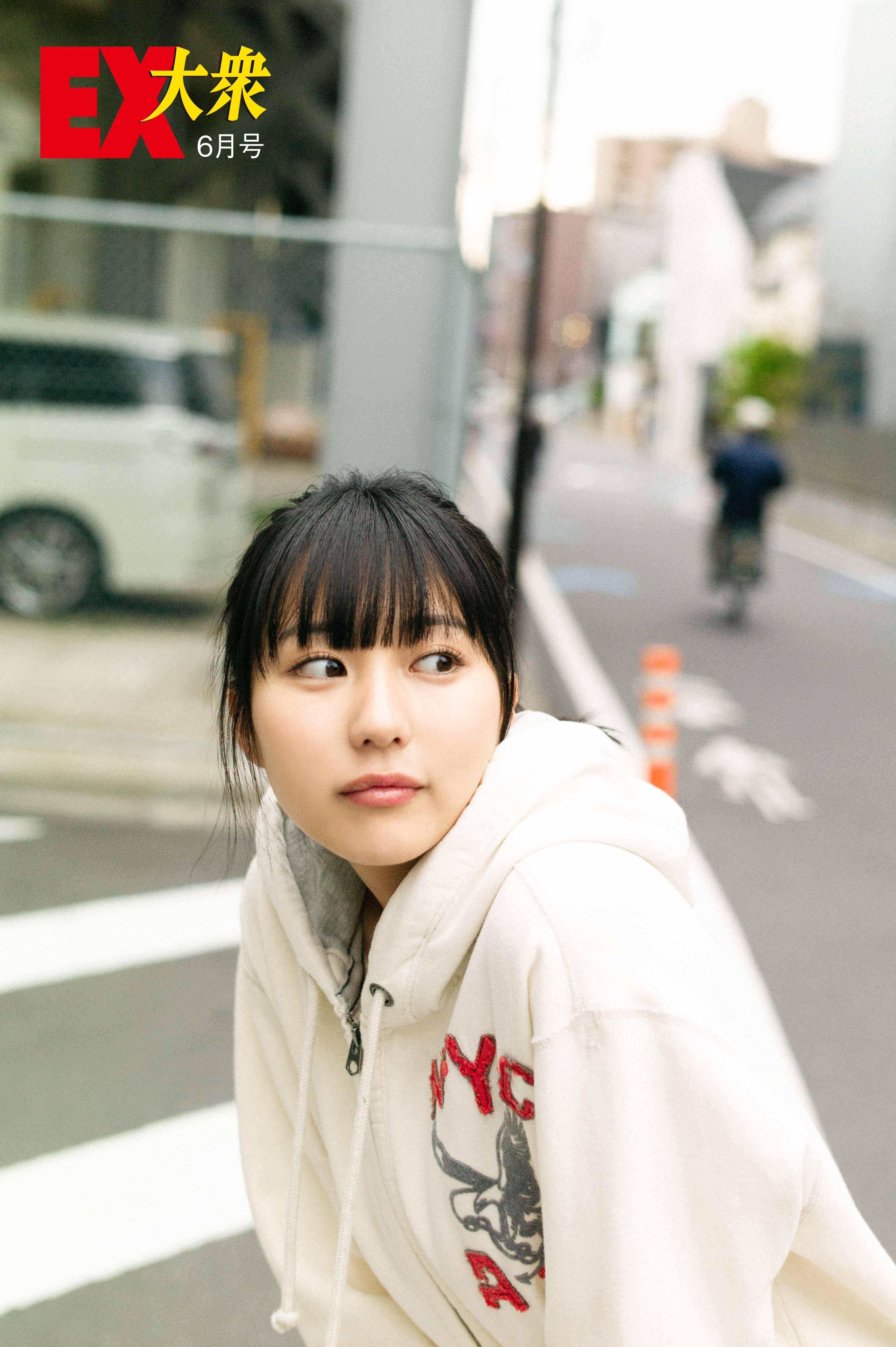 HKT48田中美久の本誌未掲載カット5枚を大公開!【EX大衆6月号】の画像005