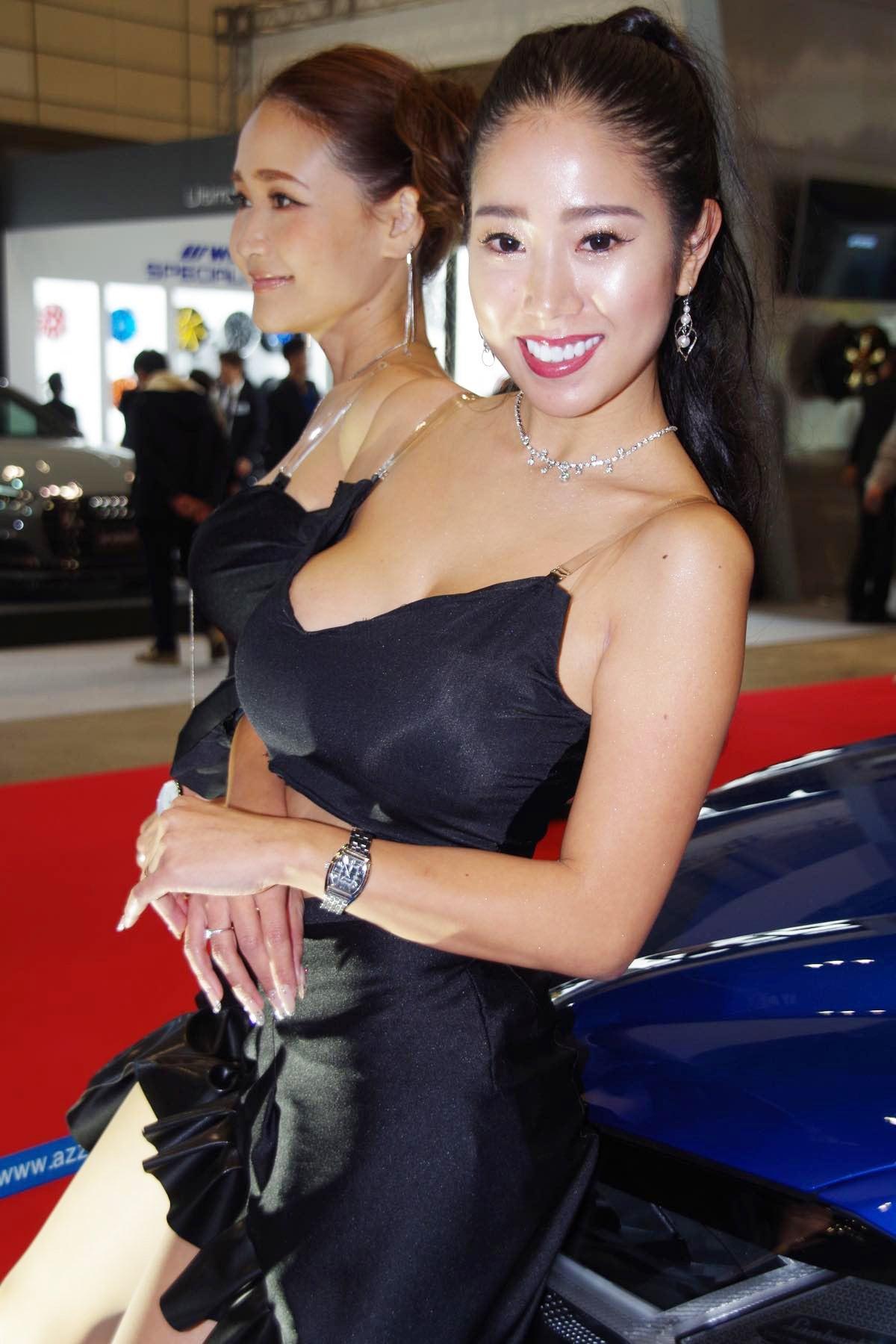 【青奈/板垣未来】東京オートサロン2020を彩った美女たち#7【写真9枚】の画像002