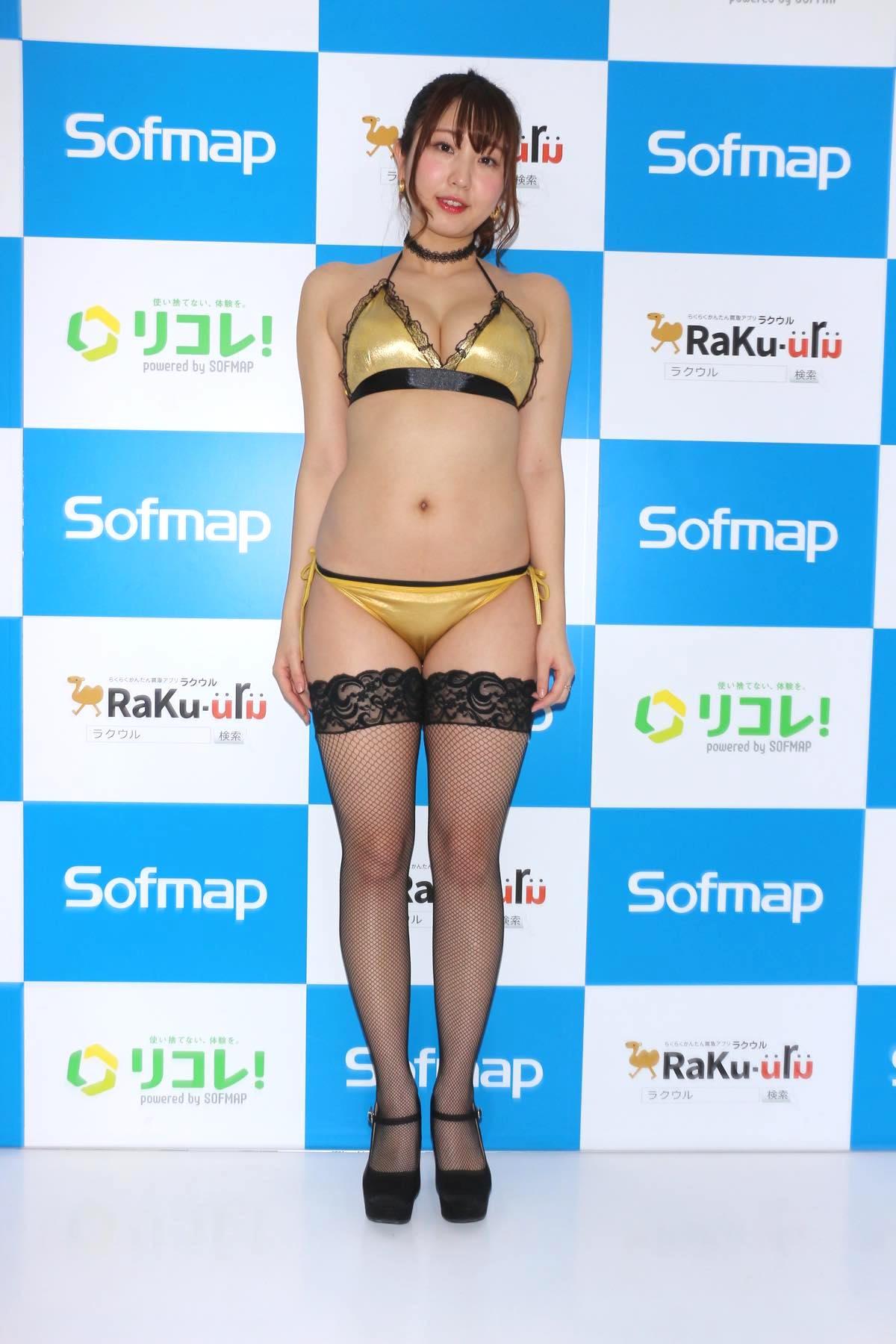 椎名香奈江のグラビア水着ビキニ画像003