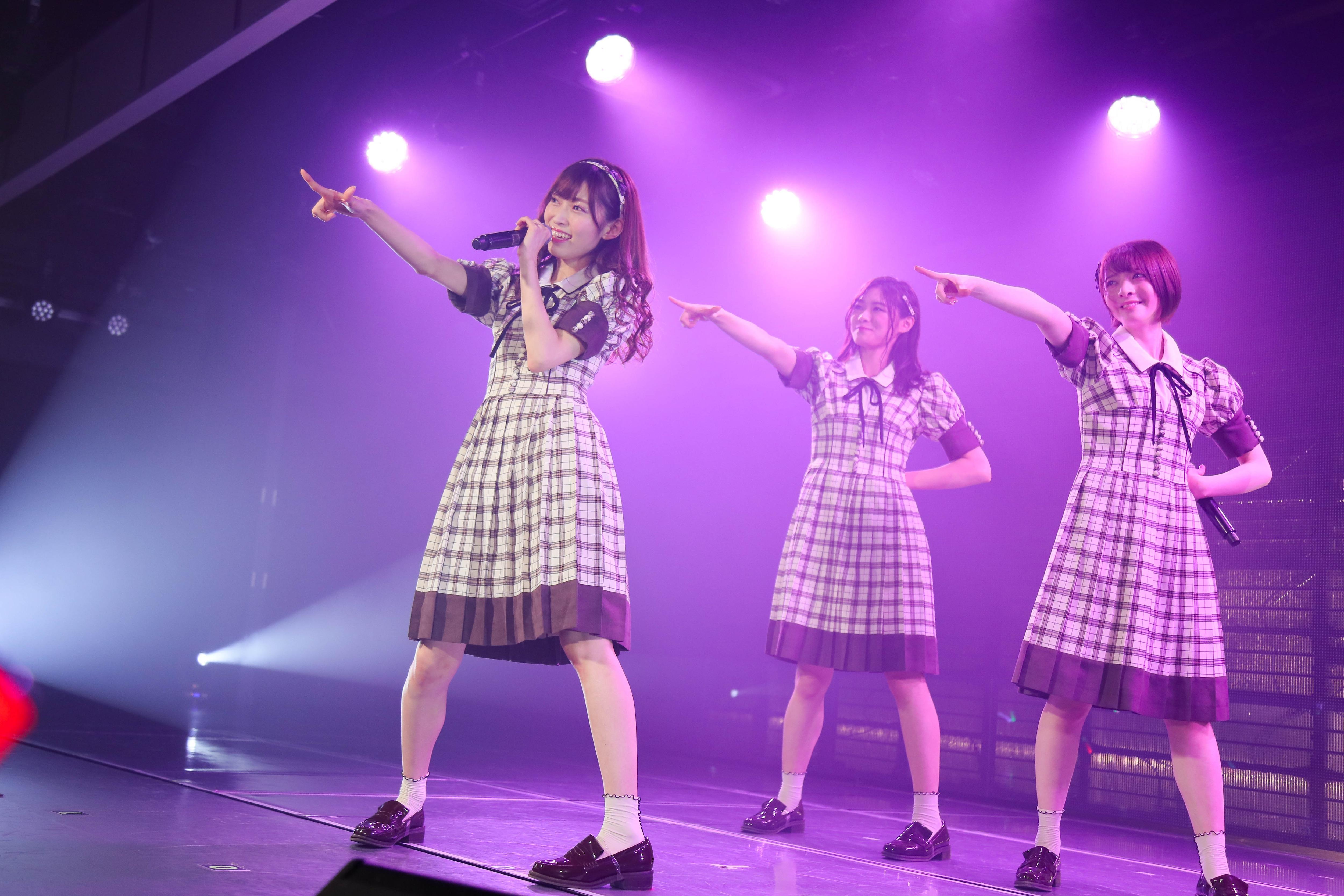 NGT48⼭⼝真帆、菅原りこ、⻑⾕川玲奈・卒業公演後のコメント発表!【写真14枚】の画像001
