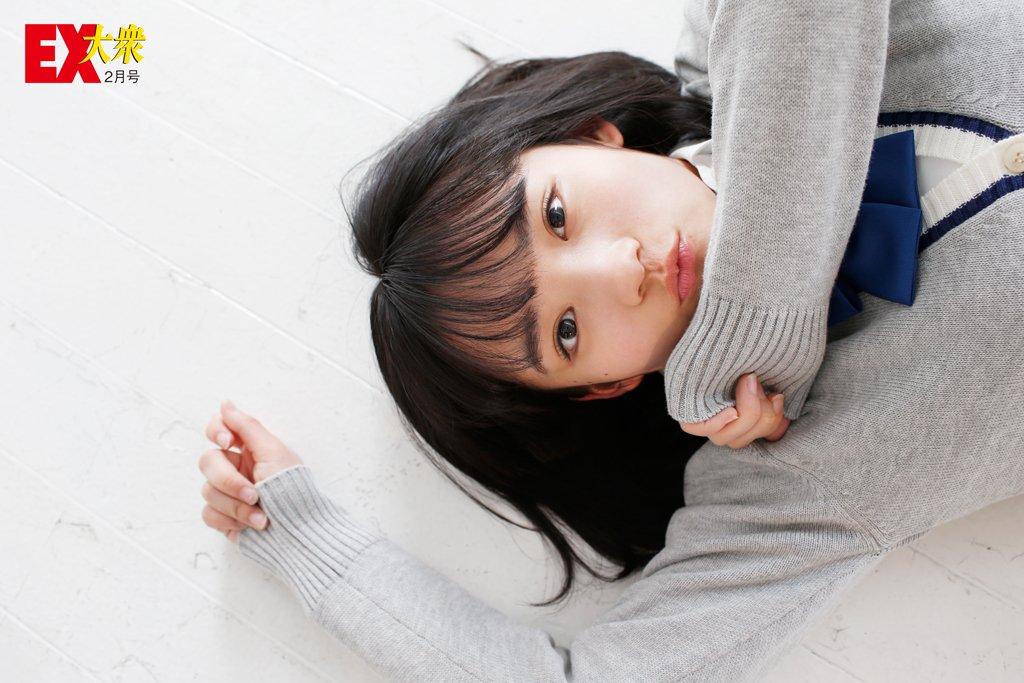 AKB48矢作萌夏の本誌未掲載カット8枚を大公開!【EX大衆2月号】の画像003