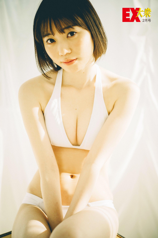 HKT48駒田京伽の本誌未掲載カット5枚を大公開!【EX大衆2月号】の画像003