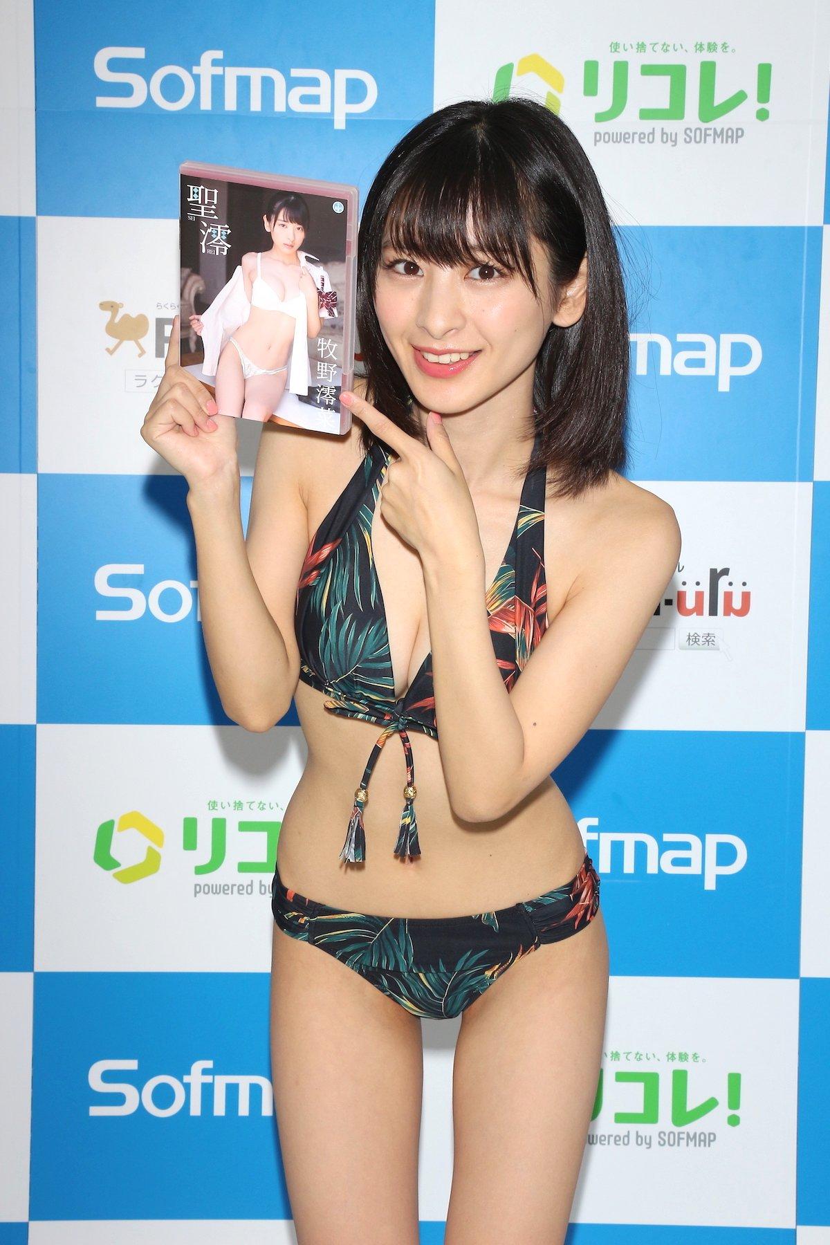 牧野澪菜「144cmのセクシーボディ」スクール水着でやらかしちゃった【画像61枚】の画像058