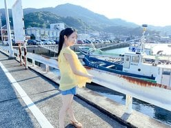 STU48石田千穂「ショートパンツが爽やか」ファースト写真集のオフショットを披露【画像4枚】の画像