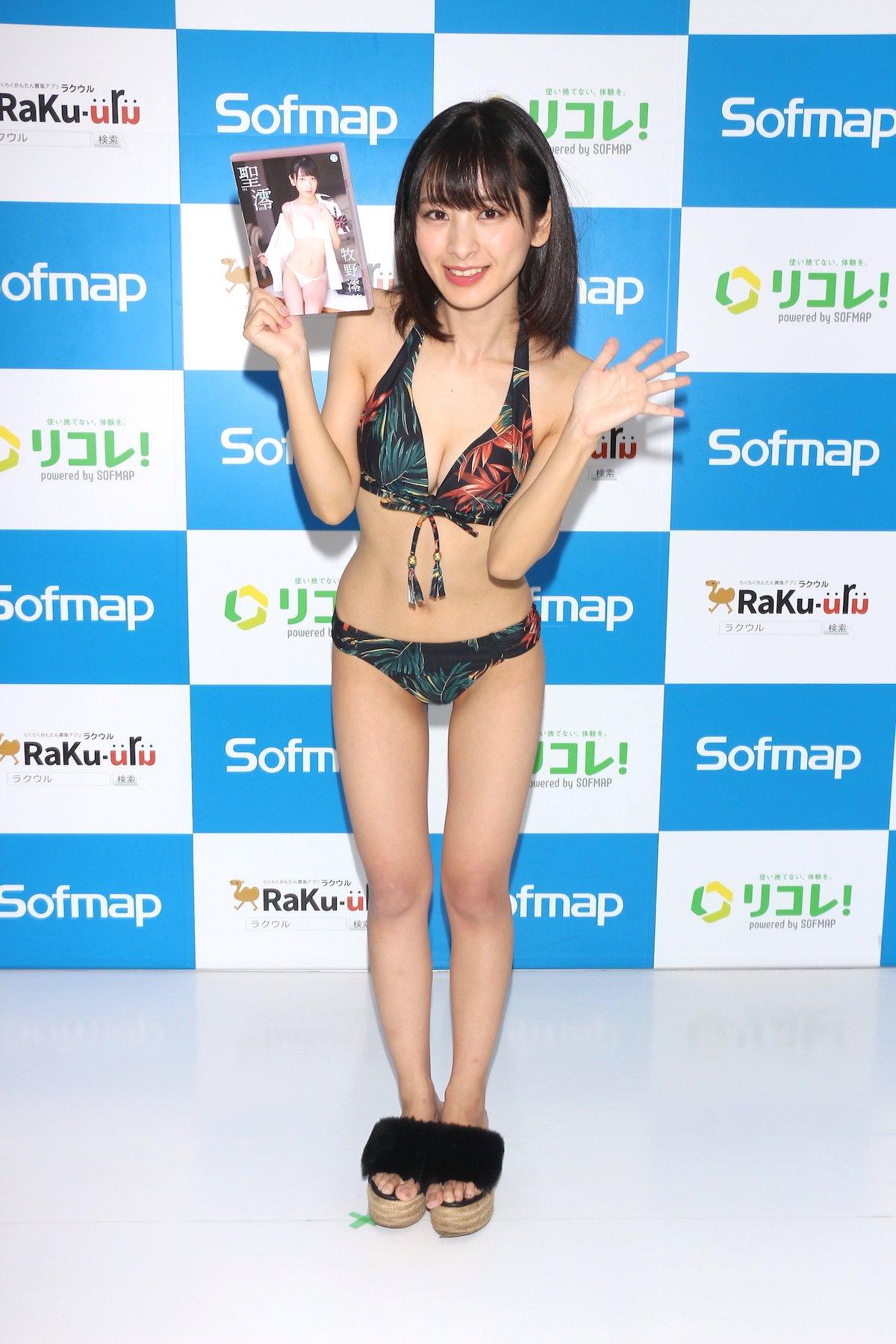 牧野澪菜「144cmのセクシーボディ」スクール水着でやらかしちゃった【画像61枚】の画像053