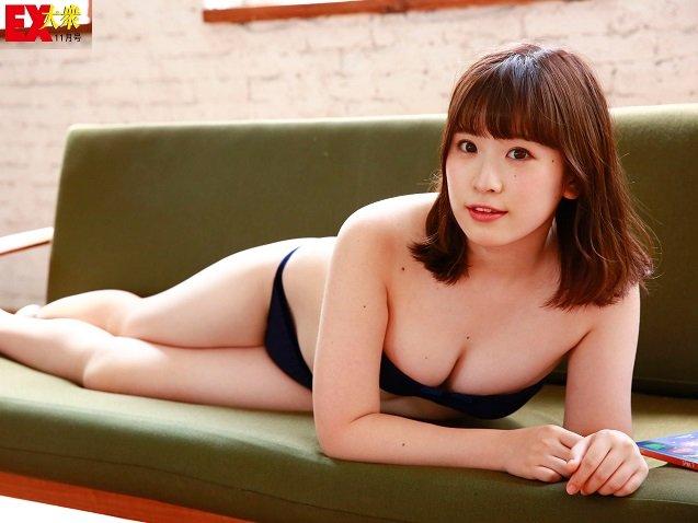 【未公開ショット】NMB48・武井紗良さん編<EX大衆11月号>の画像005