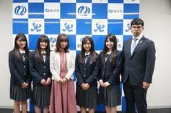 NGT48中井りか、三村妃乃、古舘葵、安藤千伽奈、小越春花の画像