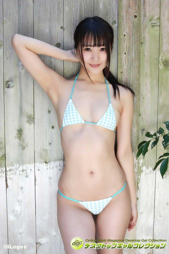 浜田翔子のグラビア水着ビキニ画像1