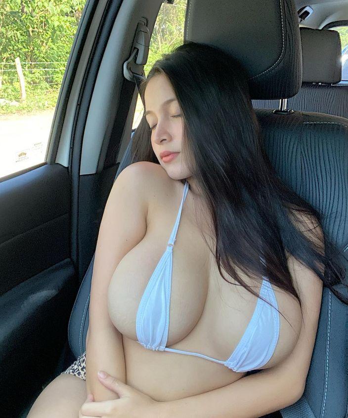 パンドラ・カーキ「フィリピン美乳の最高峰!」エッチすぎるドライブのお誘い?【画像3枚】の画像