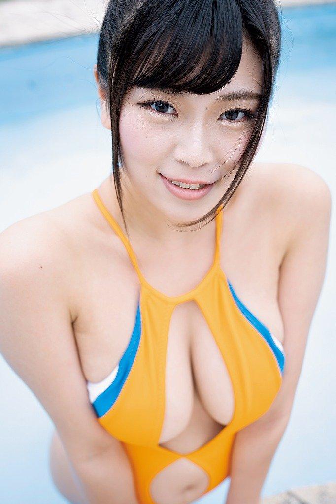 芦屋芽依のグラビア水着ビキニ画像8