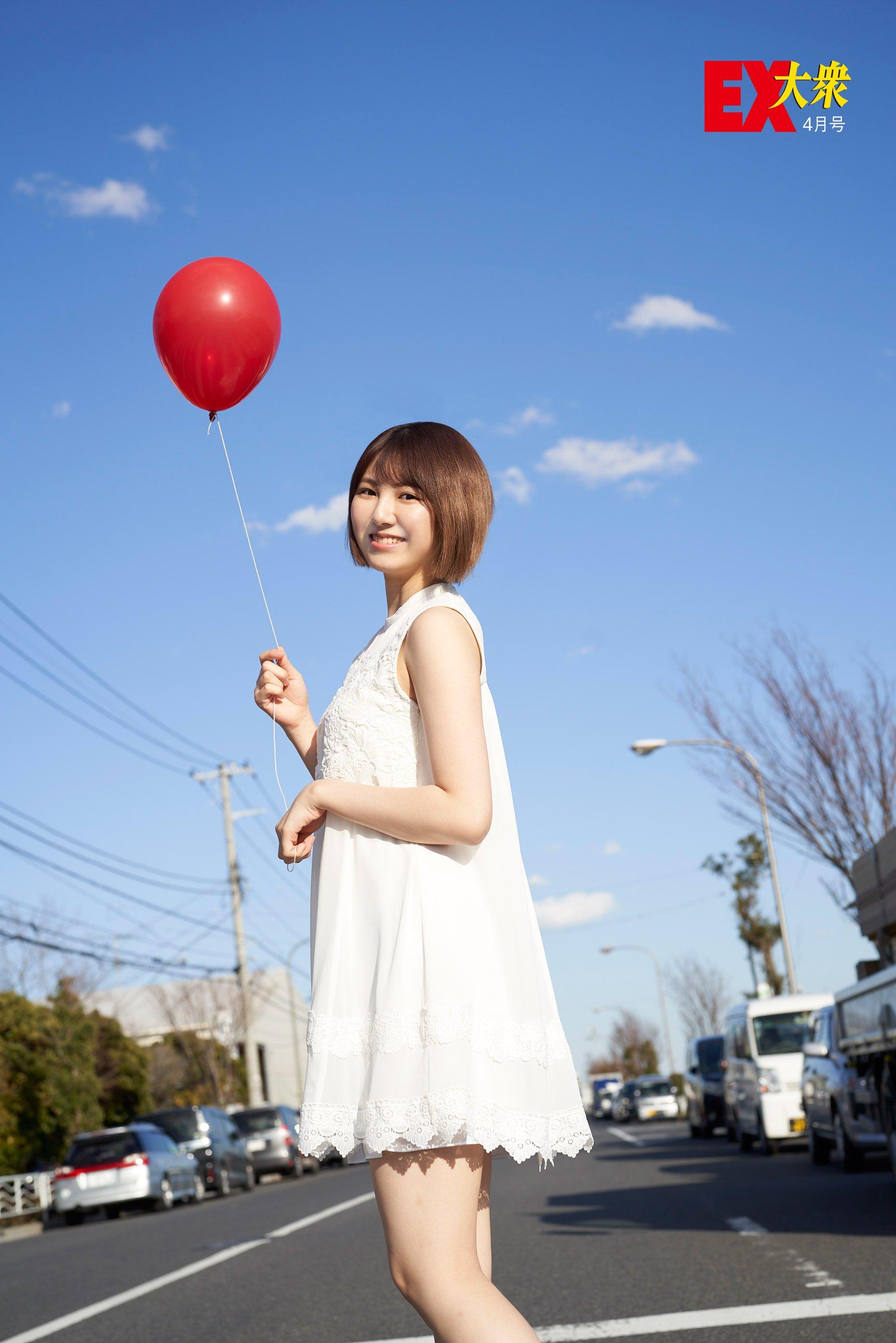 SKE48菅原茉椰の本誌未掲載カット1