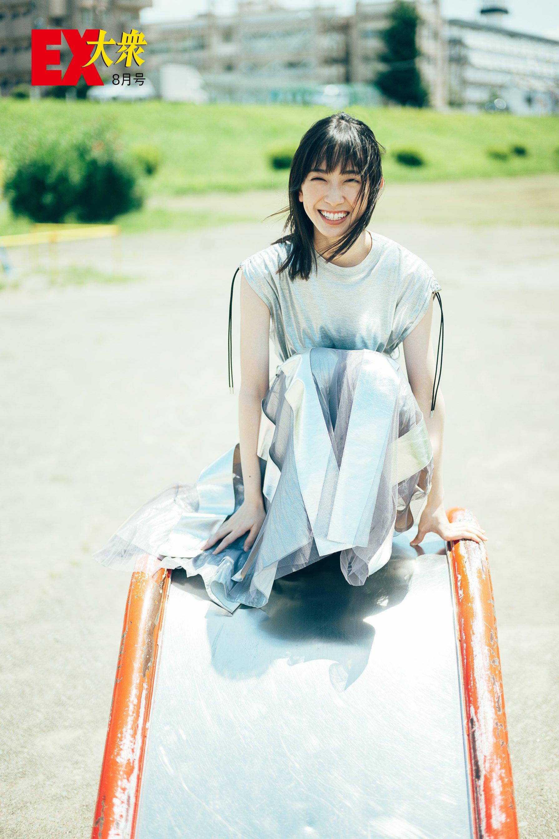 日向坂46金村美玖の本誌未掲載カット6枚を大公開!【EX大衆8月号】の画像002
