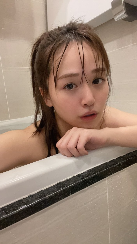 """ゆうこす「プライベートな""""すっぴん""""入浴姿にドキ」もちもちの美肌がつやつやで…の画像"""