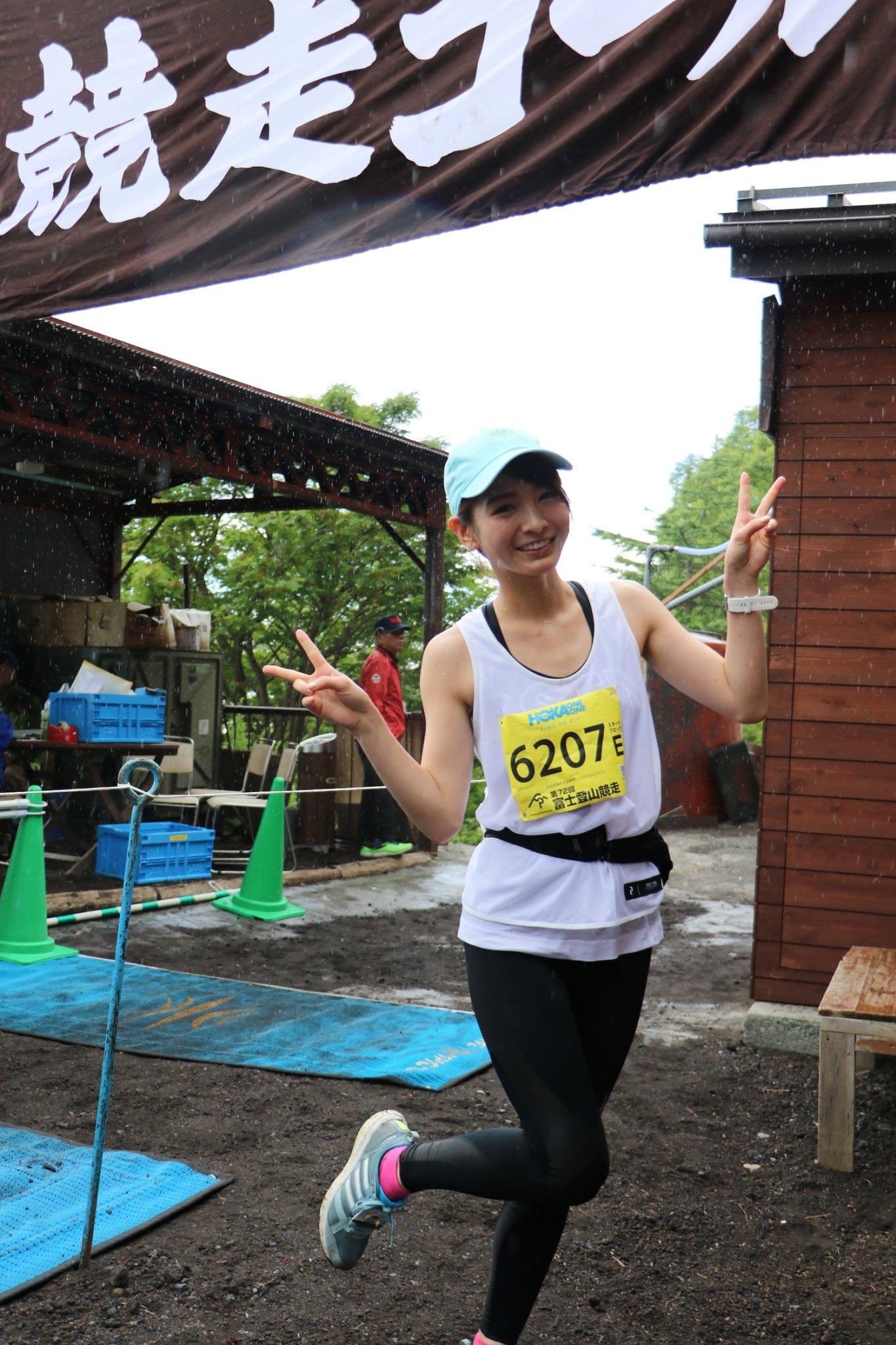 ほのかが、超過酷レース「富士登山競走」に女性タレント初のアンバサダーとして挑戦!【写真4枚】の画像002