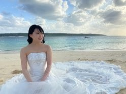 AKB48山根涼羽「ところで…結婚します?」ウエディングドレス姿の撮影オフショットで美デコルテ【画像4枚】の画像