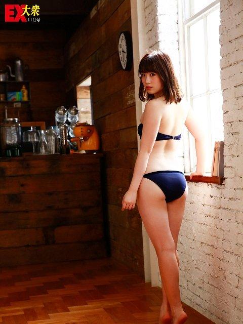 【未公開ショット】NMB48・武井紗良さん編<EX大衆11月号>の画像001
