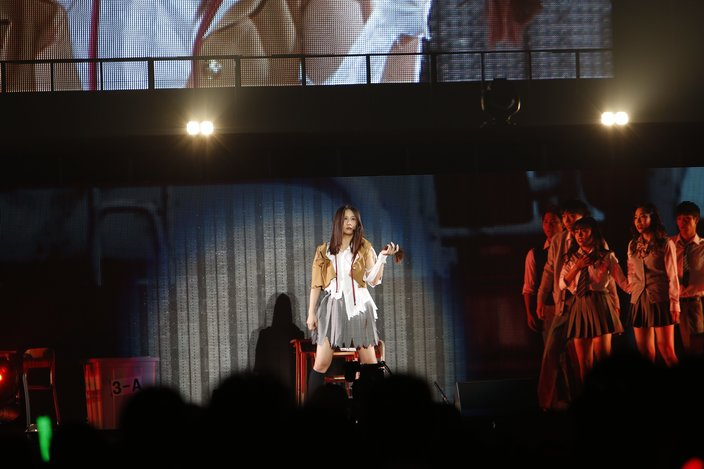 SKE48古畑奈和がステージで断髪!「AKB48グループ感謝祭~ランクインコンサート~」が開催の画像
