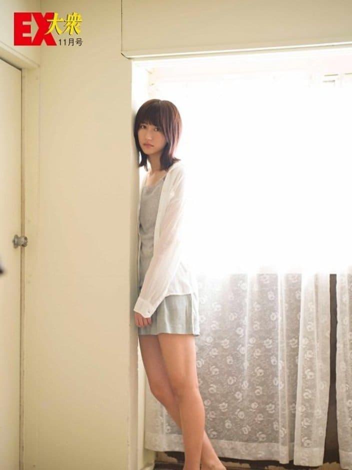 【未公開ショット】欅坂46・土生瑞穂さん編<EX大衆11月号>の画像
