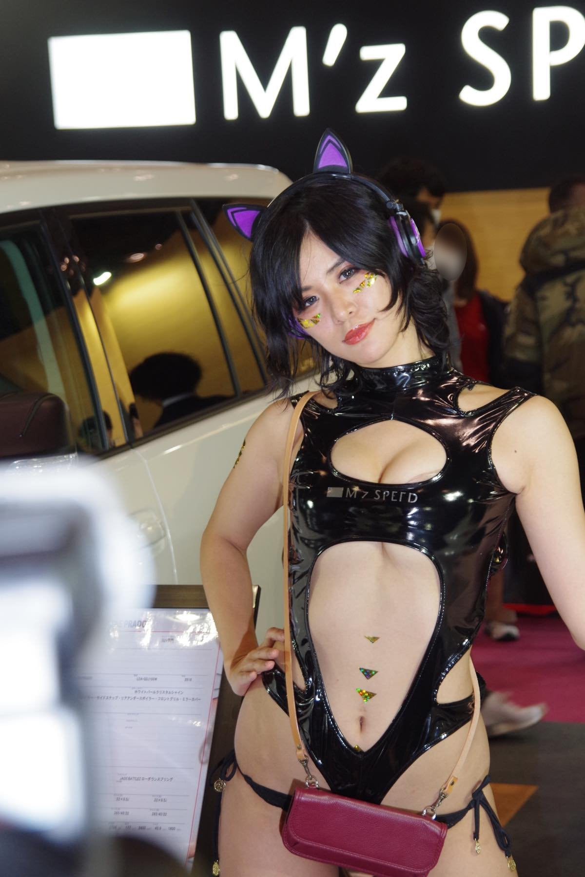 【峰のりえ/小宮かなえ】東京オートサロン2020を彩った美女たち#6【写真9枚】の画像005