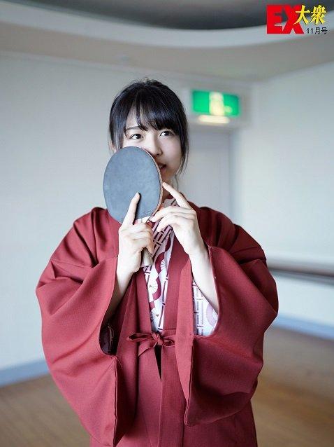 【未公開ショット】欅坂46・長濱ねるさん編<EX大衆11月号>の画像002