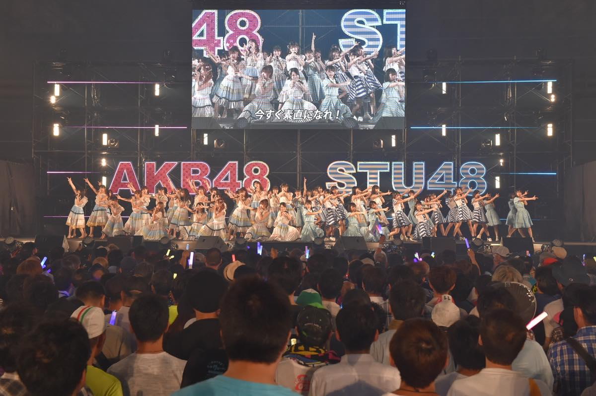 AKB48とSTU48が合同握手会開催!STU48の全国ツアー開催も発表【写真20枚】の画像001