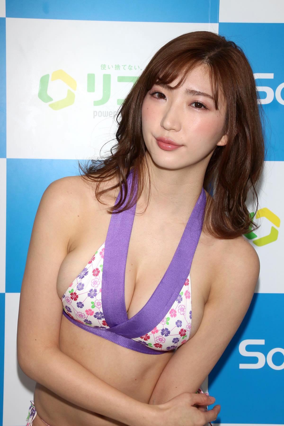 松嶋えいみのグラビア水着ビキニ画像024