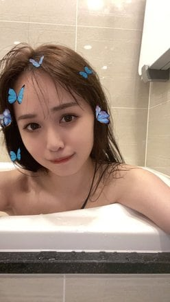 ゆうこす「あざと可愛い!」大胆すぎる半身浴姿を披露の画像