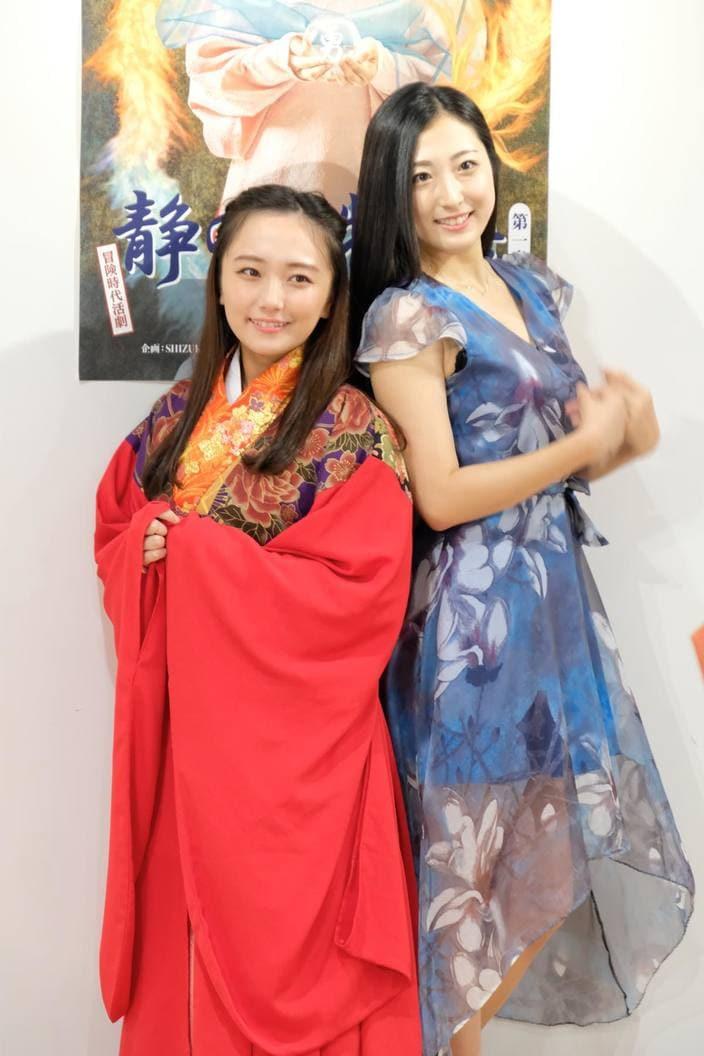 グラドル阿南萌花が時代劇公演『静の国物語』に挑戦!の画像