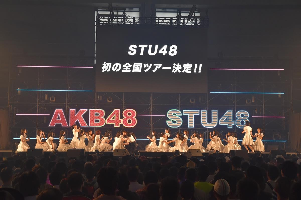 AKB48とSTU48が合同握手会開催!STU48の全国ツアー開催も発表【写真20枚】の画像002