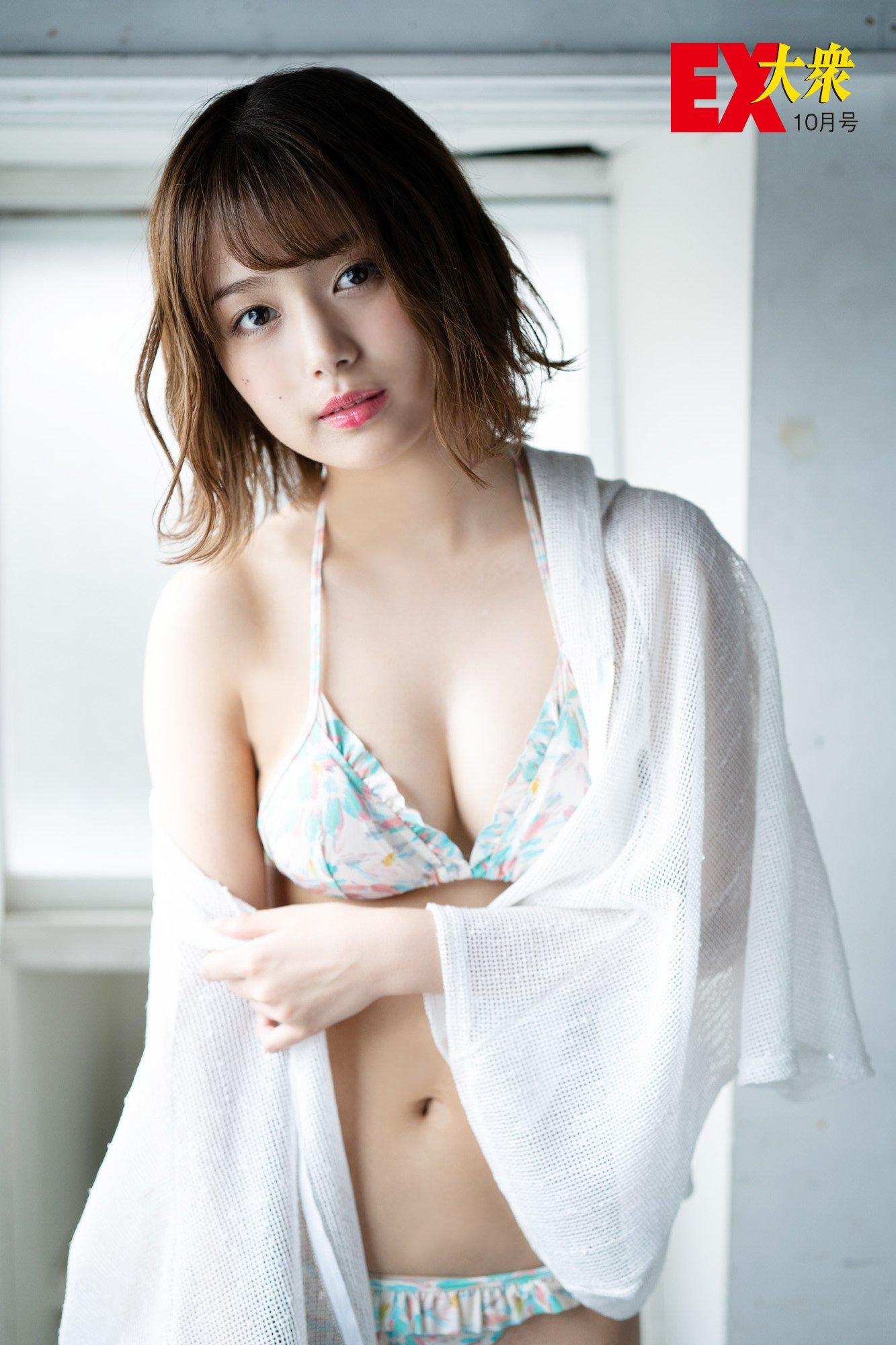 SKE48北野瑠華の本誌未掲載カット6枚を大公開!【EX大衆10月号】の画像001