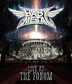 ※画像はBABY METALのBlu-ray『LIVE AT THE FORUM』より