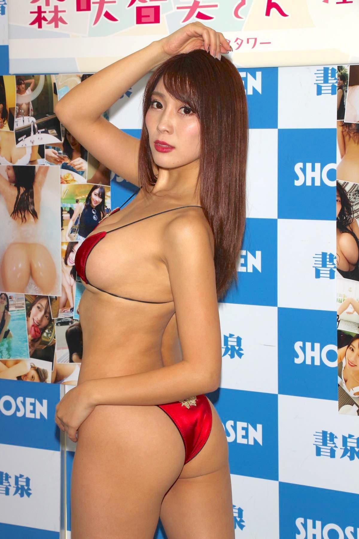 森咲智美の水着画像13