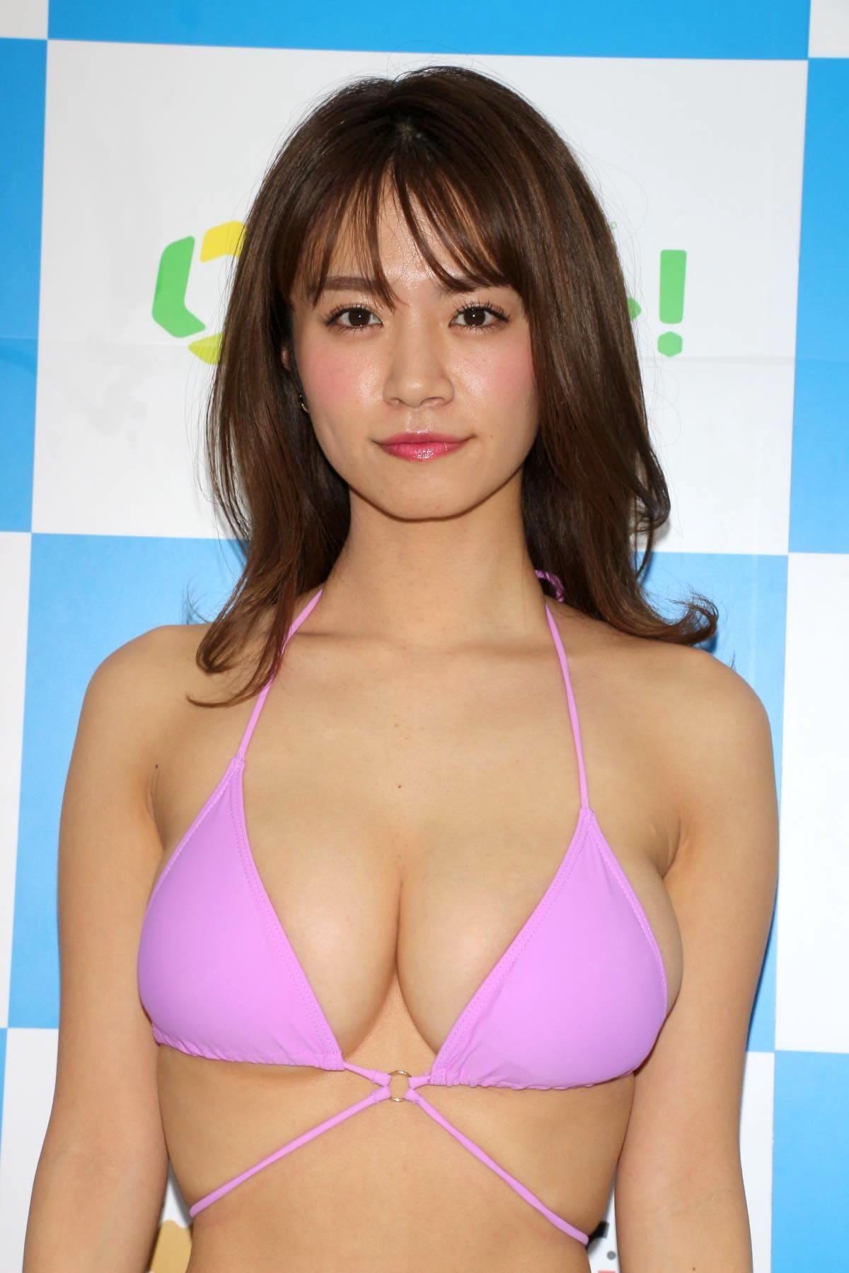 菜乃花のグラビア水着ビキニ画像07